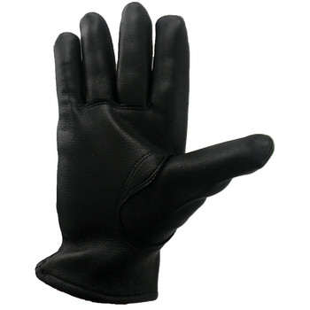 DBL750 black deerskin glove Palm