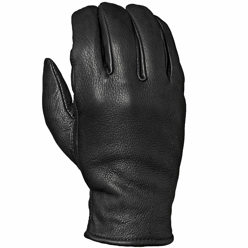 DBL550 Black Women's Leather Glove Lined