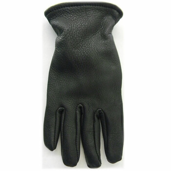 DBL650 Black Leather Men's Glove Lined