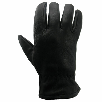 DBL750 Black Leather Glove Lined