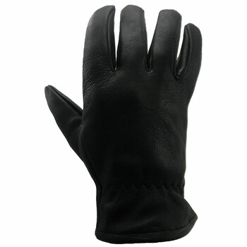 DBL750 Black Leather Women's Glove