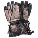 SA0188 DEERSKIN LEATHER CAMO SKI GLOVE