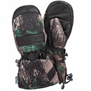 SA0190 DEERSKIN LEATHER CAMO SKI MITT